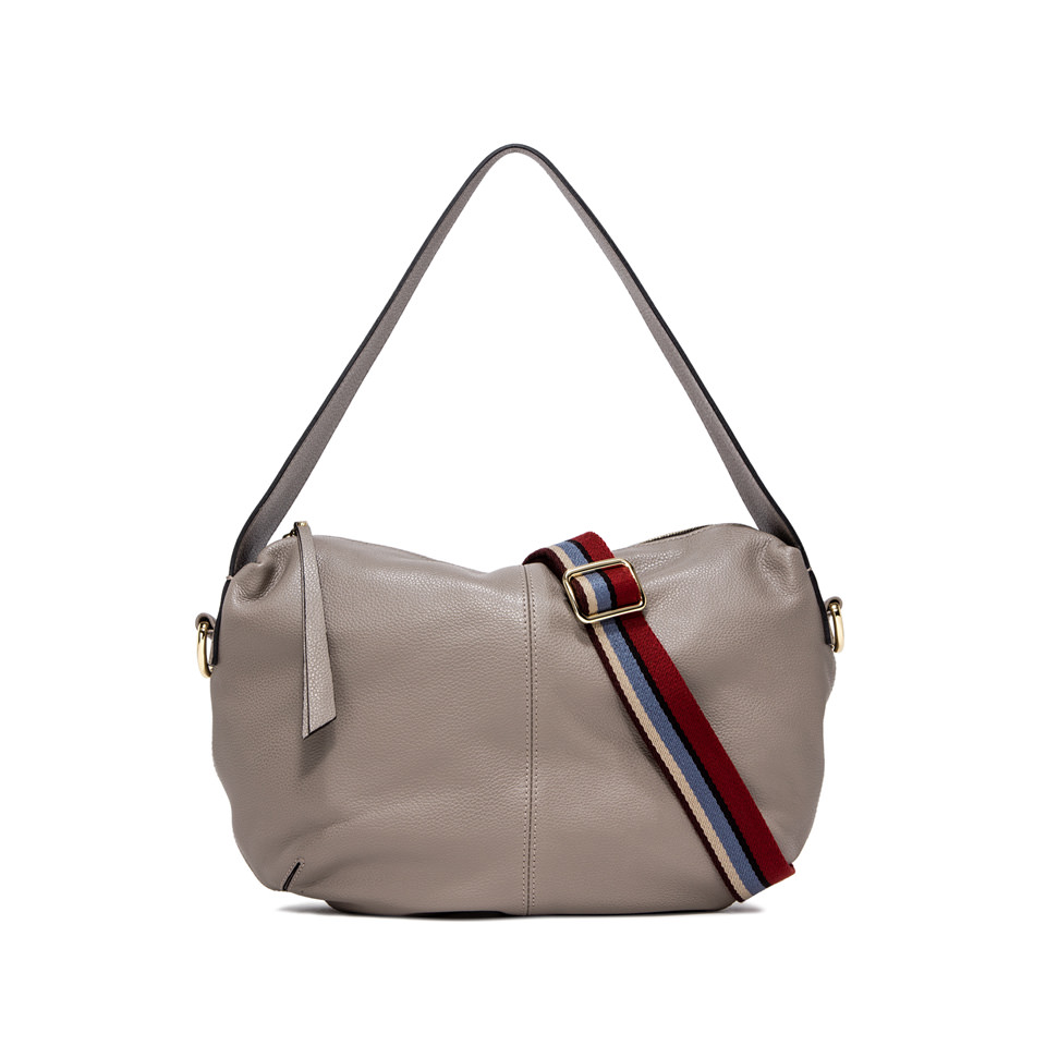 GIANNI CHIARINI: GIORGIA  MEDIUM  BEIGE  SHOULDER  BAG