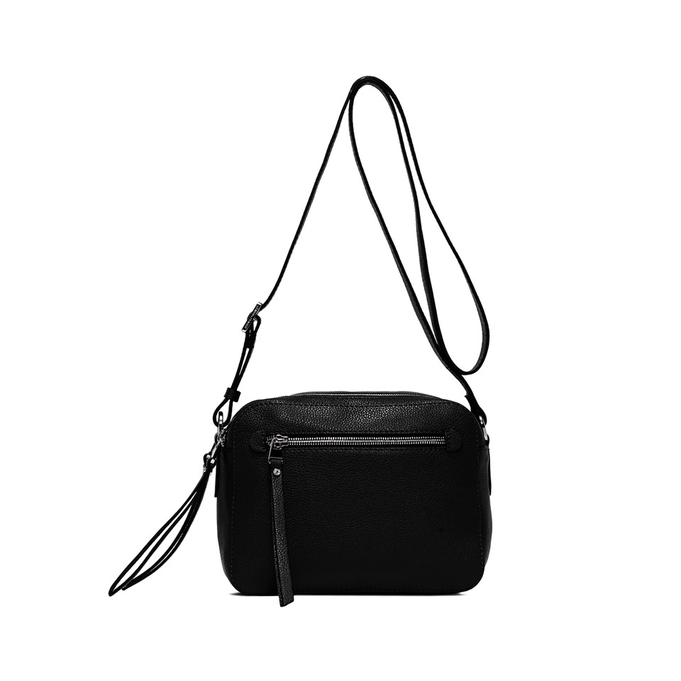 GIANNI CHIARINI: BORSA  A  TRACOLLA  SPORTY  NEW  SMALL  NERO