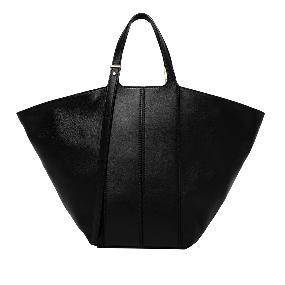 GIANNI CHIARINI: MEDIUM SIZE DILETTA HAND BAG COLOR BLACK
