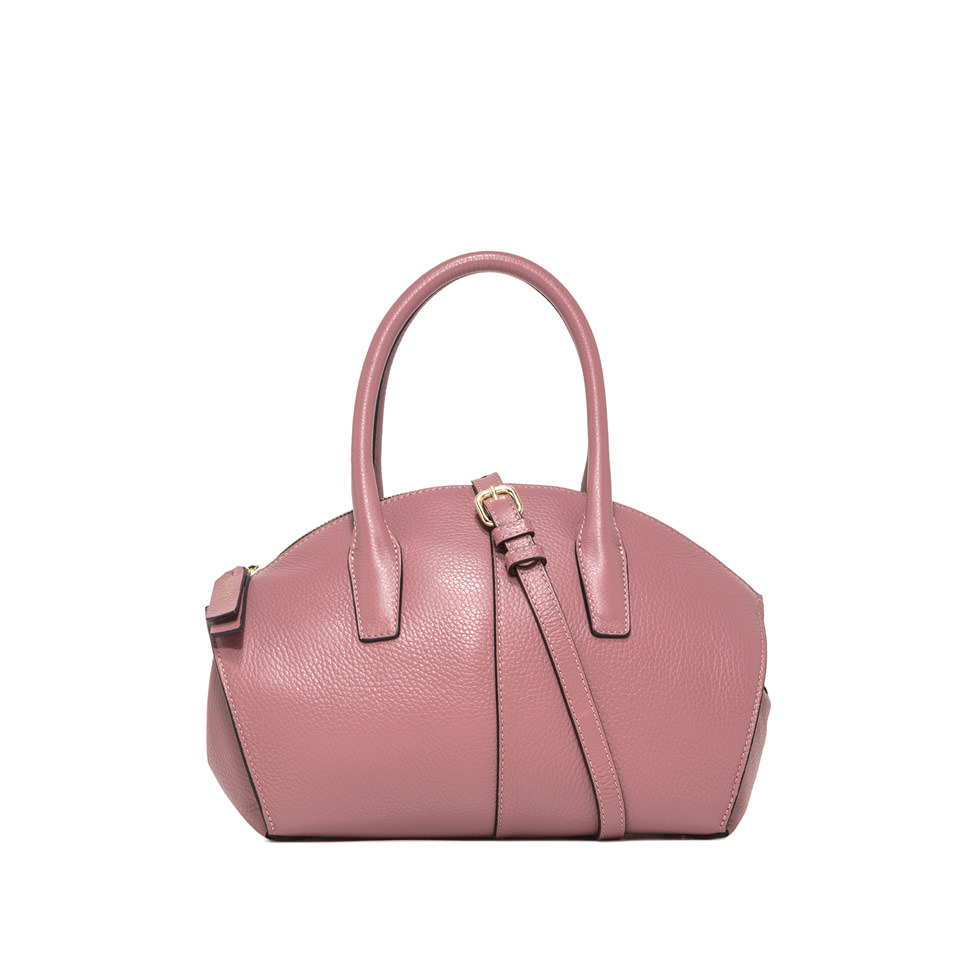 GIANNI CHIARINI: MEDIUM SIZE SHELL HAND BAG COLOR PINK