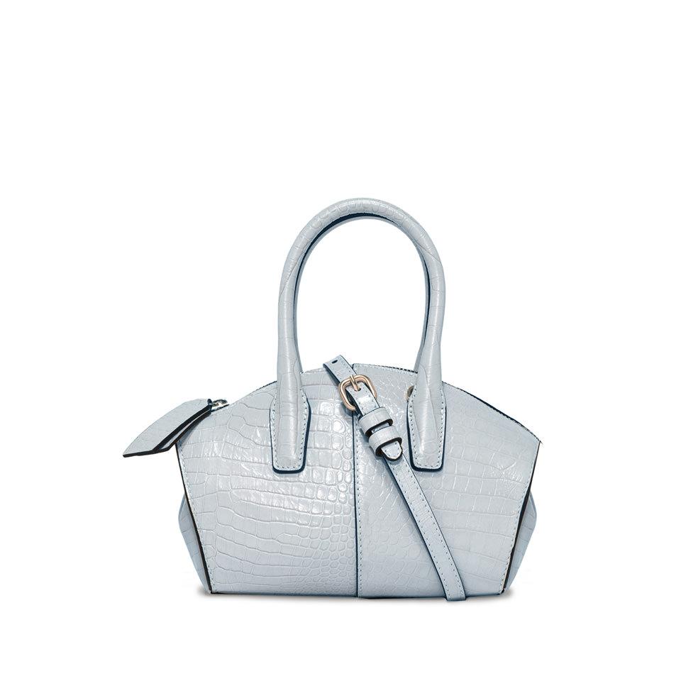 GIANNI CHIARINI: SMALL SIZE PRINTED SHELL HAND BAG