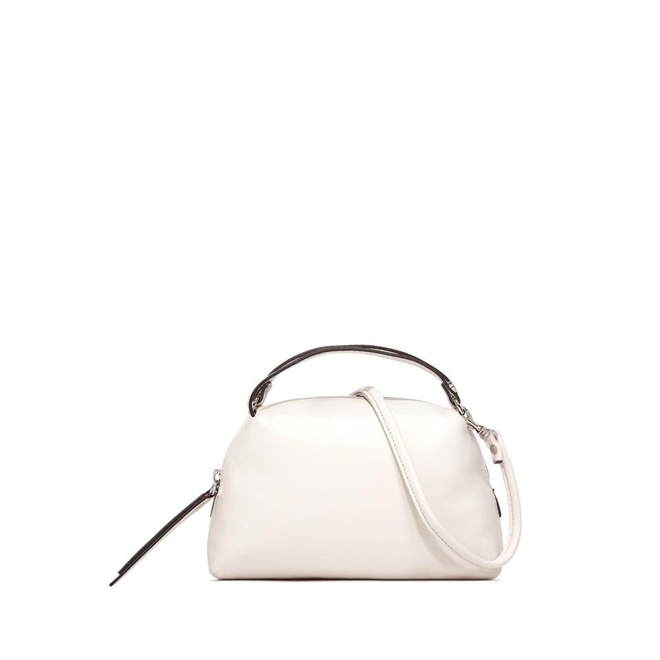 GIANNI CHIARINI: SMALL ALIFA HAND BAG COLOR WHITE