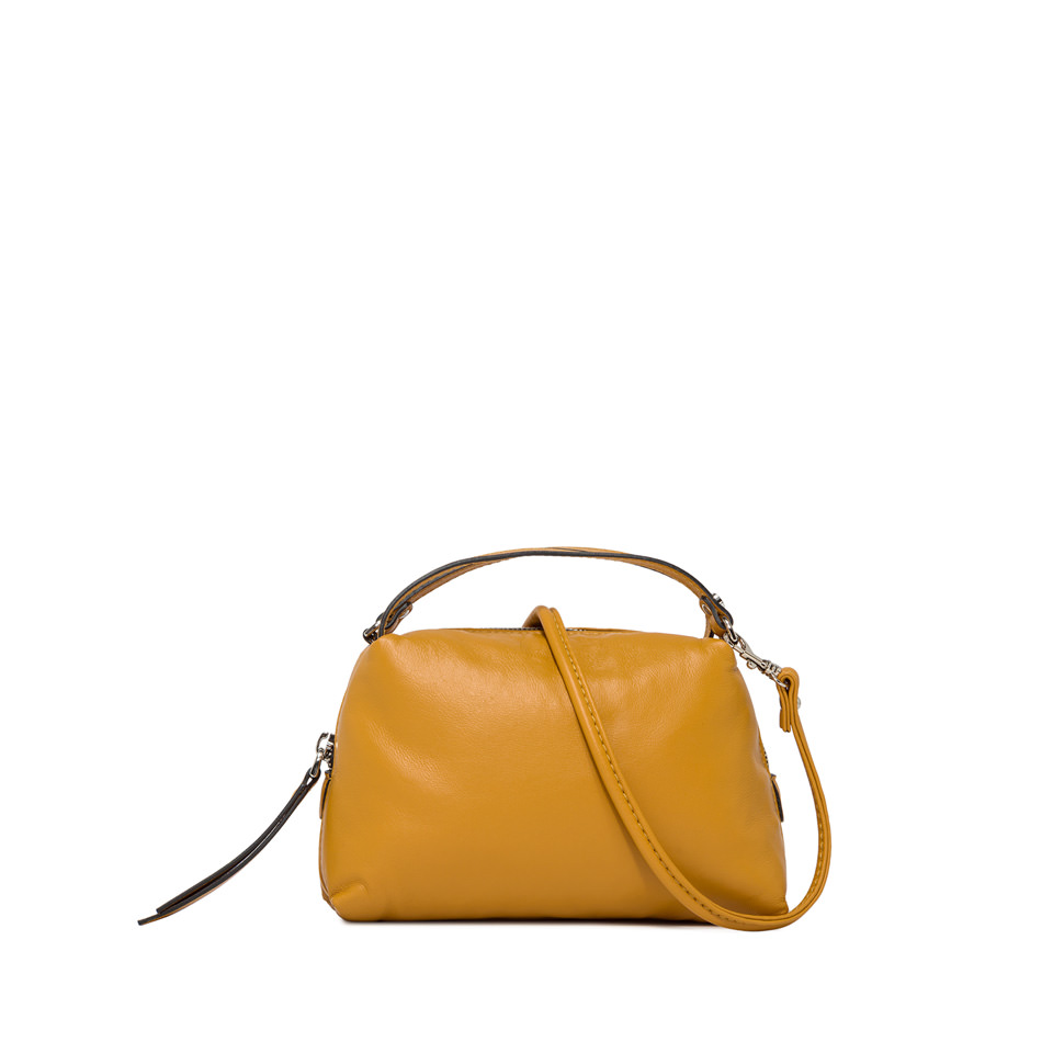 GIANNI CHIARINI: SMALL ALIFA HAND BAG COLOR YELLOW