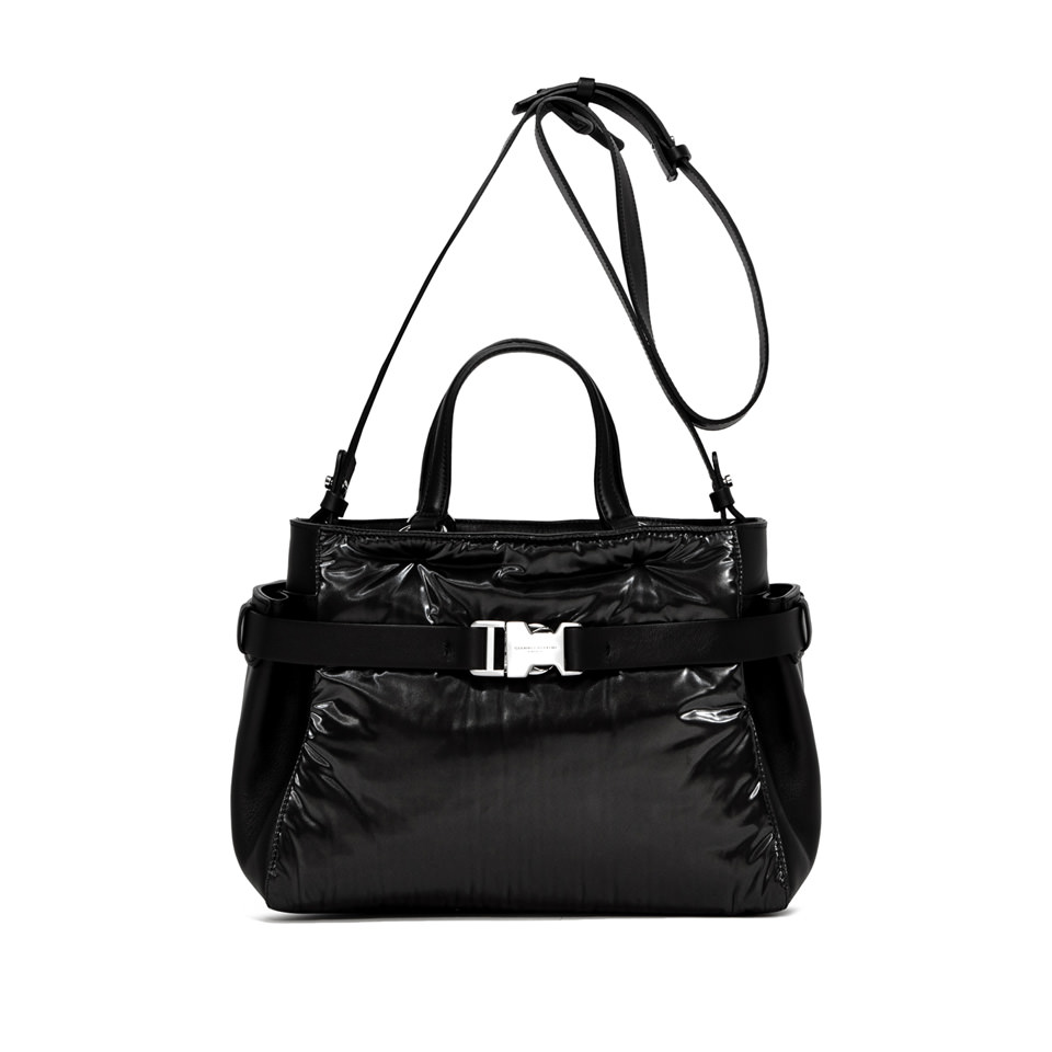 GIANNI CHIARINI: STELLA MEDIUM BLACK HANDBAG
