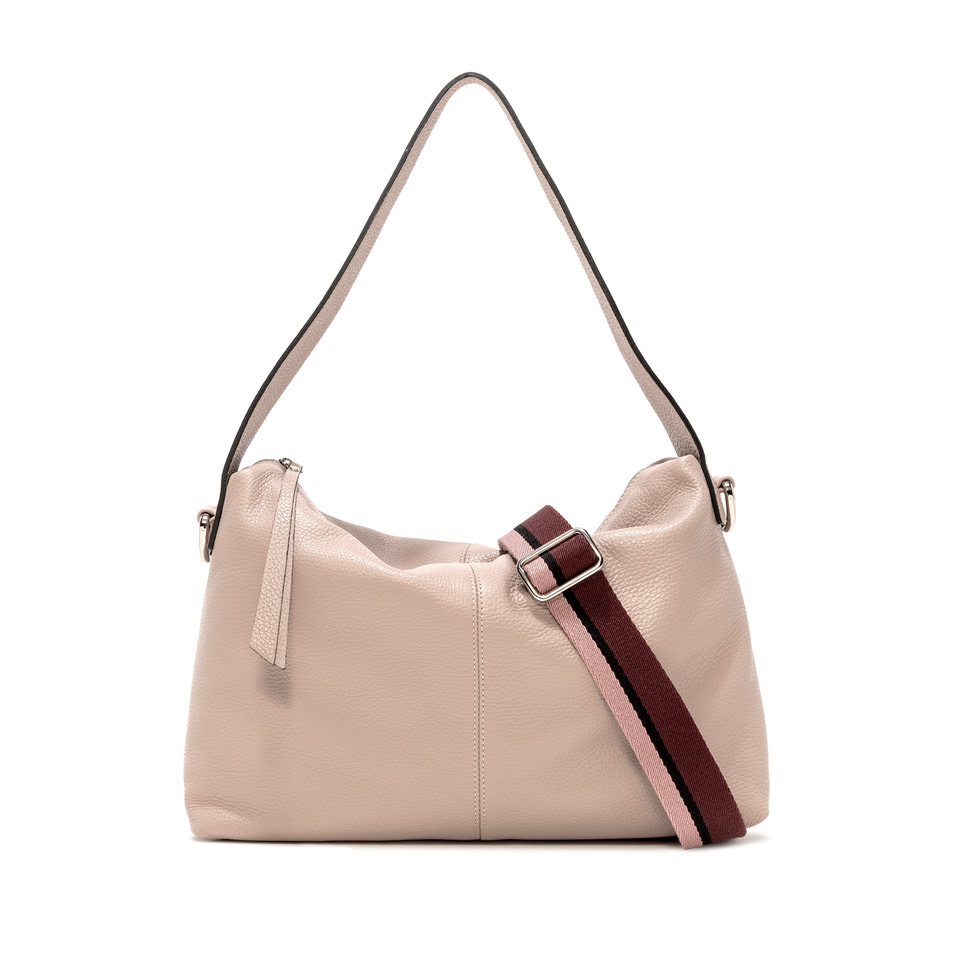 GIANNI CHIARINI: MEDIUM SIZE GIORGIA SHOULDER BAG COLOR BEIGE