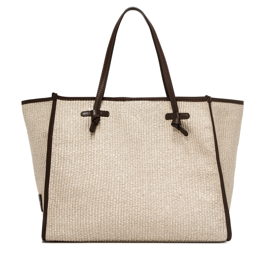 GIANNI CHIARINI: MARCELLA LARGE BEIGE  SHOULDER BAG