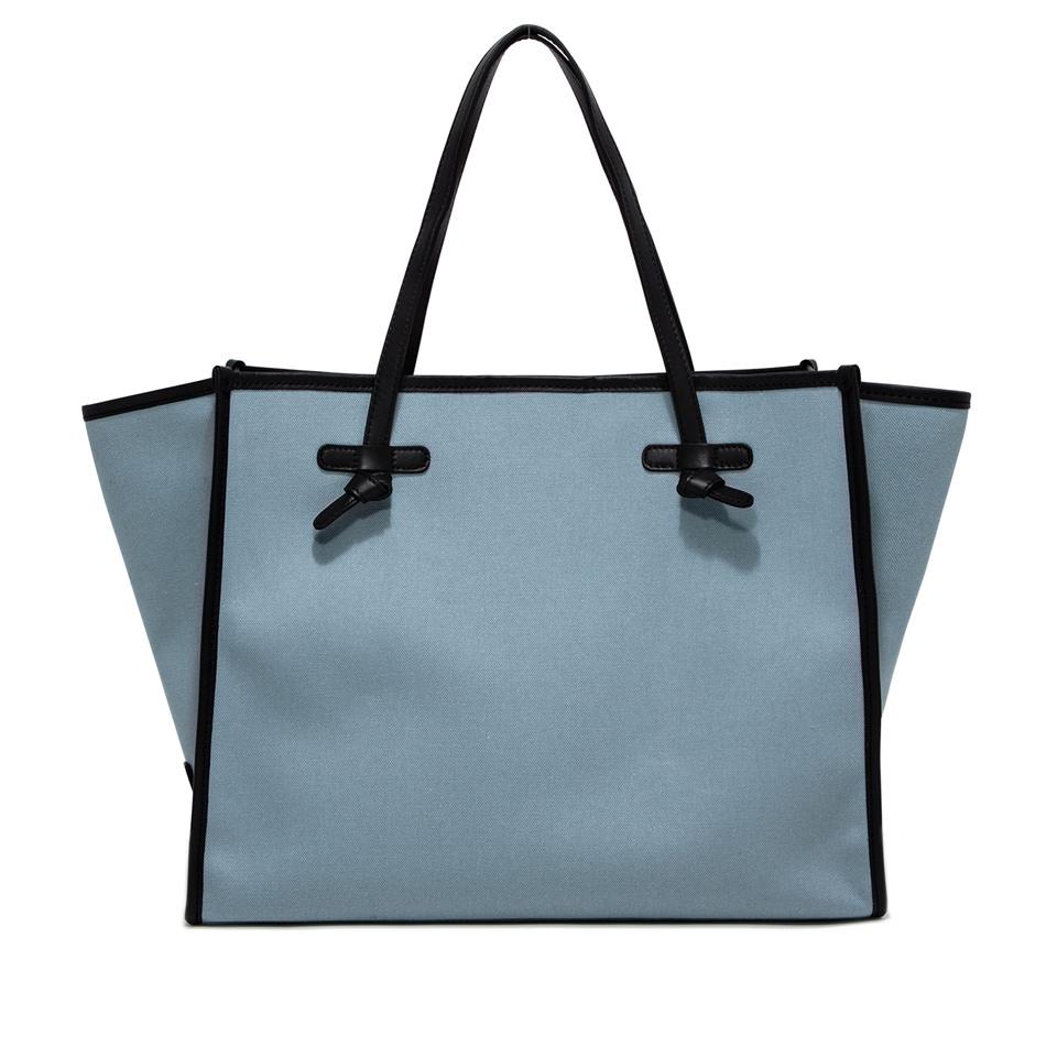 GIANNI CHIARINI: MARCELLA LARGE BLUE SHOPPING