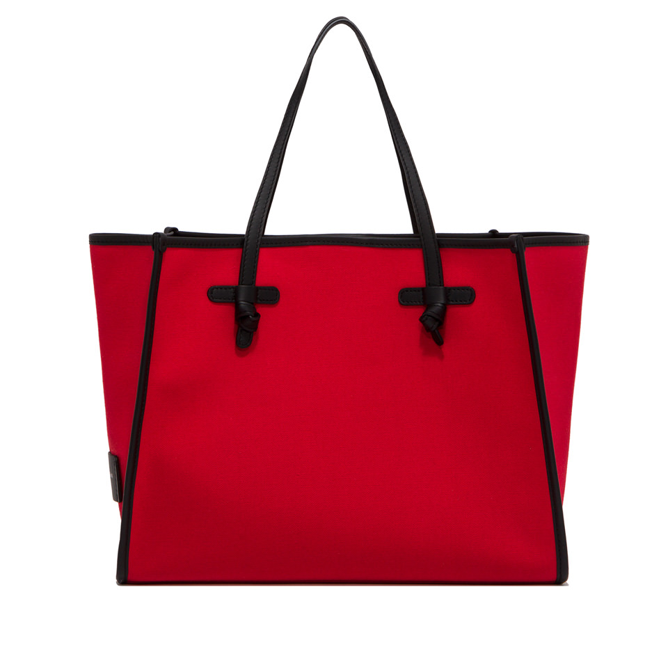 GIANNI CHIARINI: SHOPPING MARCELLA LARGE ROSSO