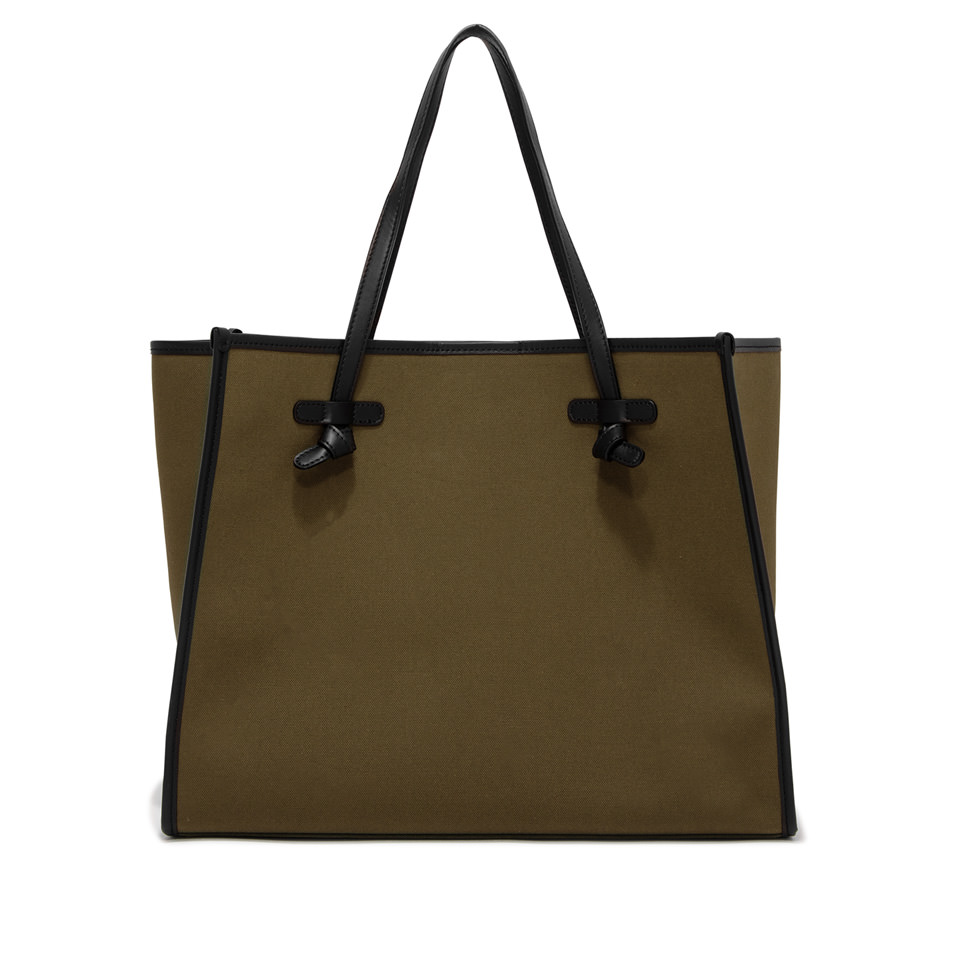 GIANNI CHIARINI: MARCELLA LARGE GREEN SHOULDER BAG