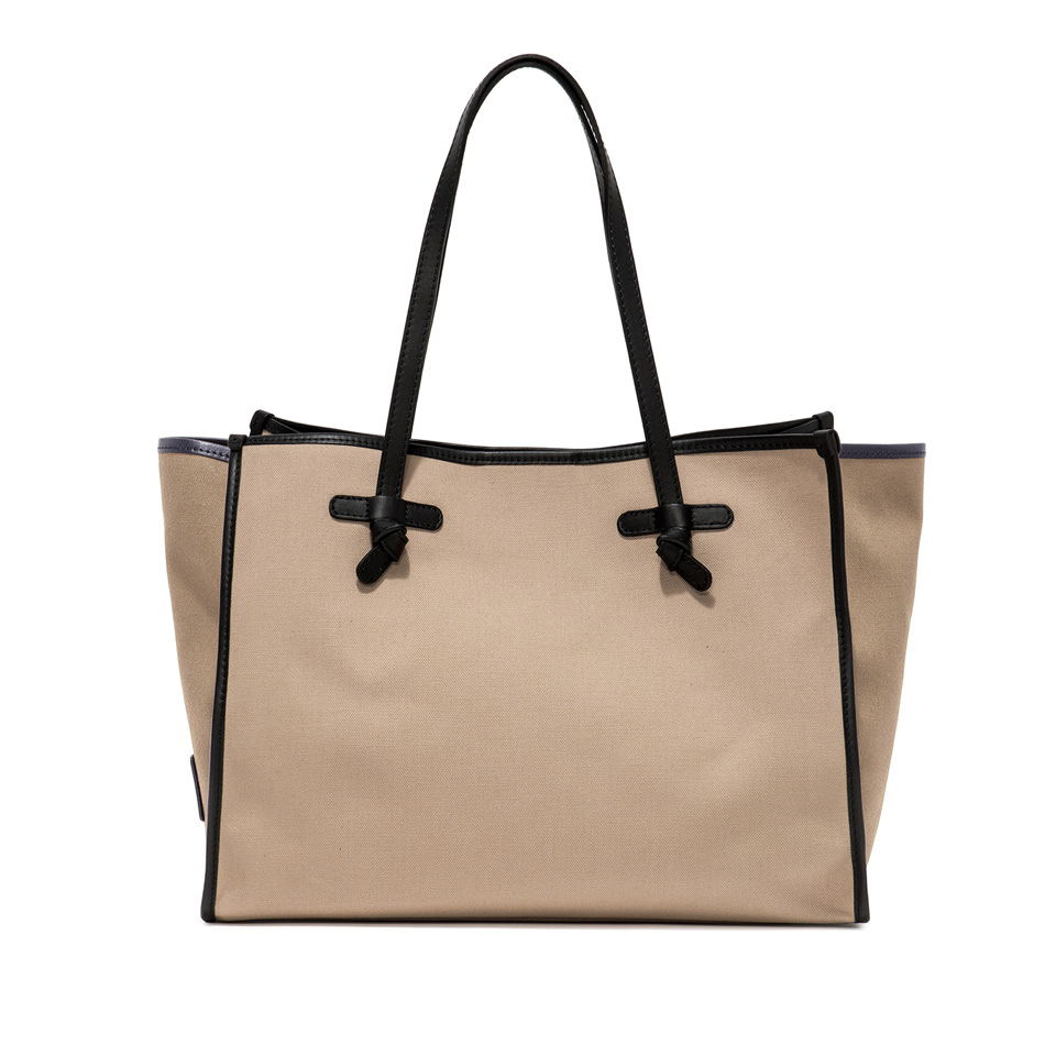 GIANNI CHIARINI: MARCELLA MEDIUM BEIGE SHOULDER BAG