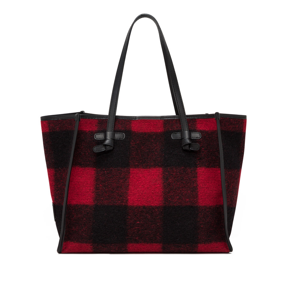 GIANNI CHIARINI: MEDIUM SIZE MARCELLA SHOULDER BAG COLOR RED