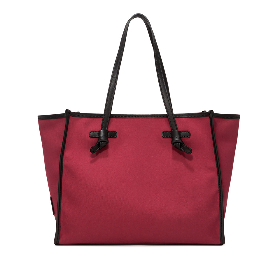 GIANNI CHIARINI: MARCELLA SHOPPING MEDIUM RED