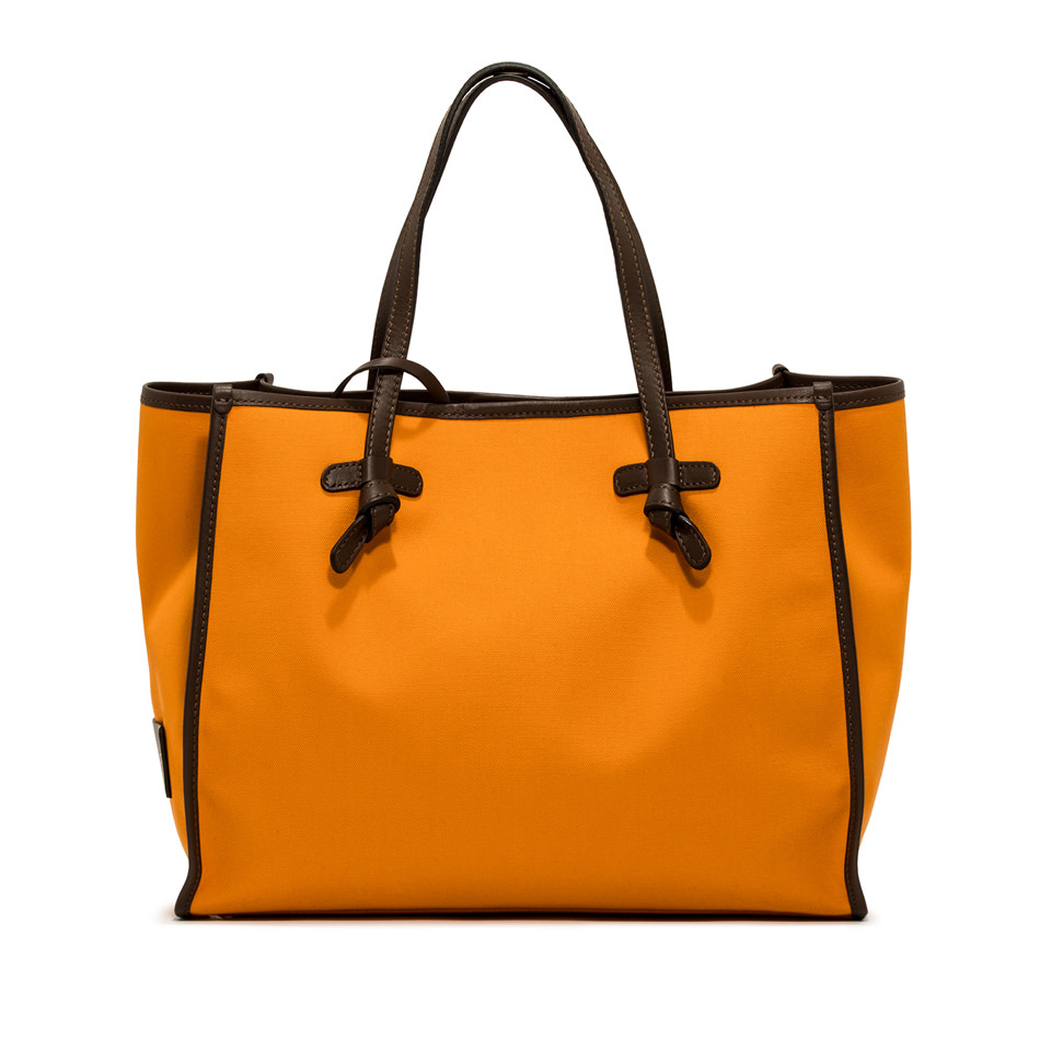 GIANNI CHIARINI: MARCELLA SHOULDER BAG MEDIUM ORANGE