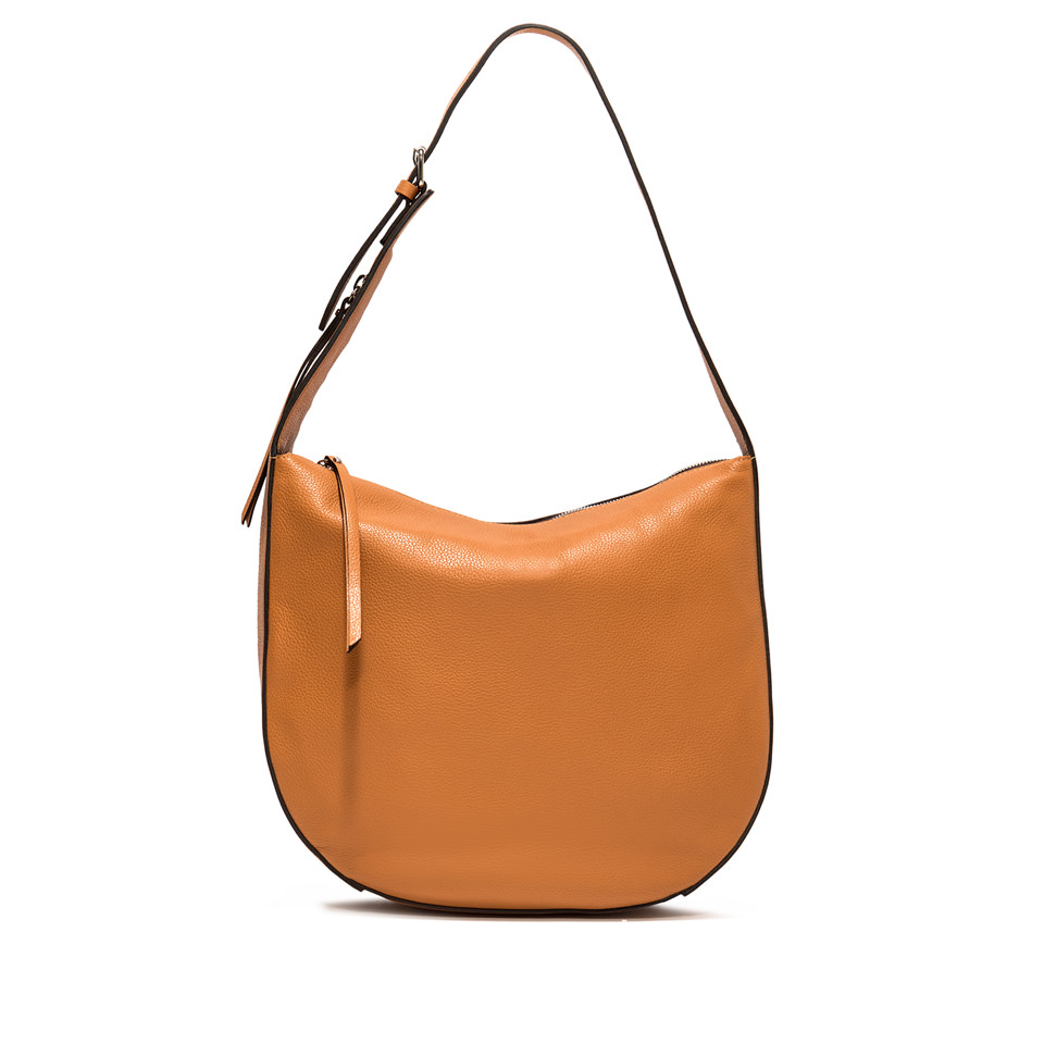 GIANNI CHIARINI: PETRA MEDIUM ORANGE SHOULDER BAG