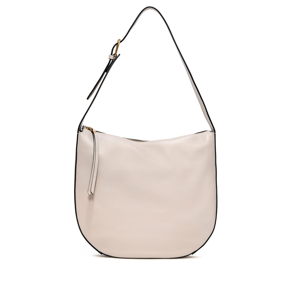GIANNI CHIARINI: PETRA  LARGE  BEIGE SHOULDER  BAG