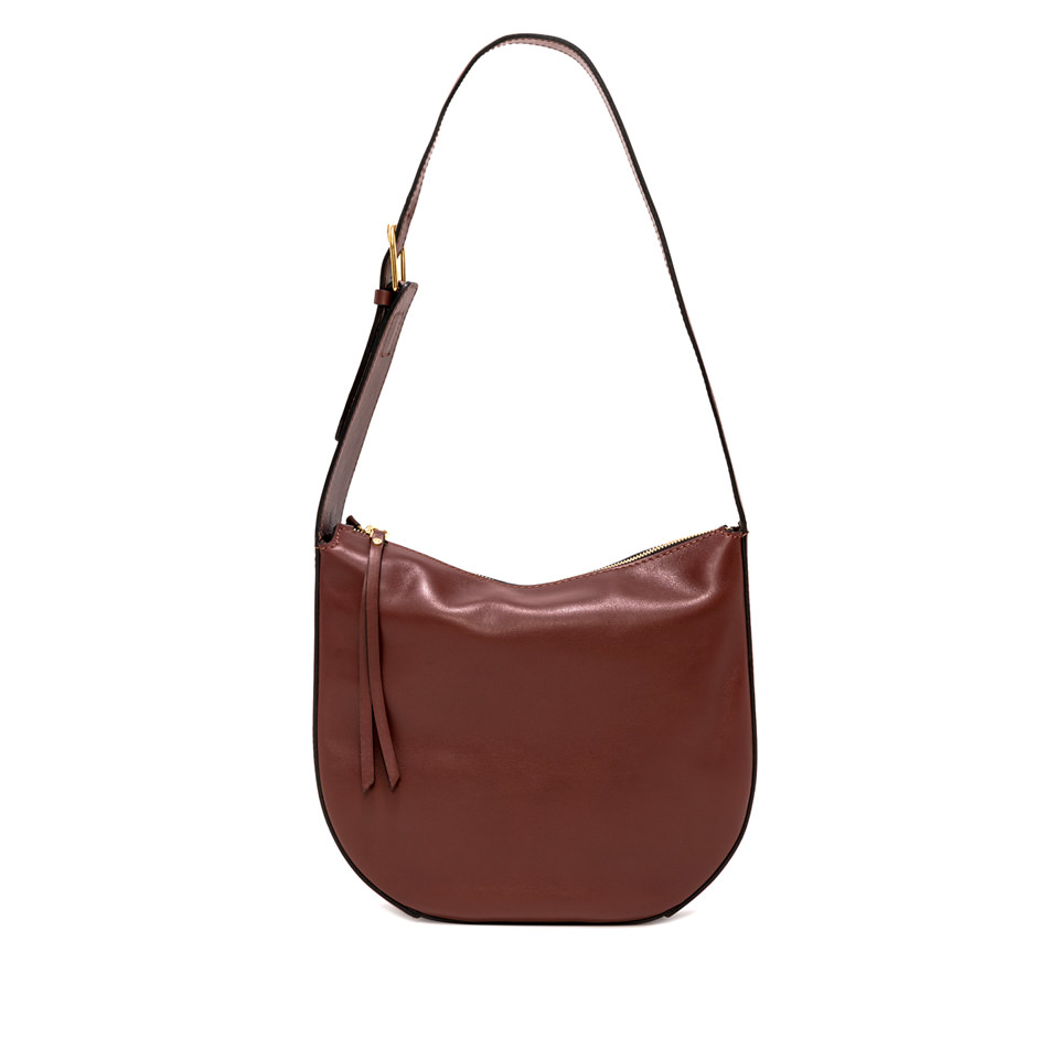 GIANNI CHIARINI: MEDIUM SIZE PETRA SHOULDER BAG COLOR BROWN