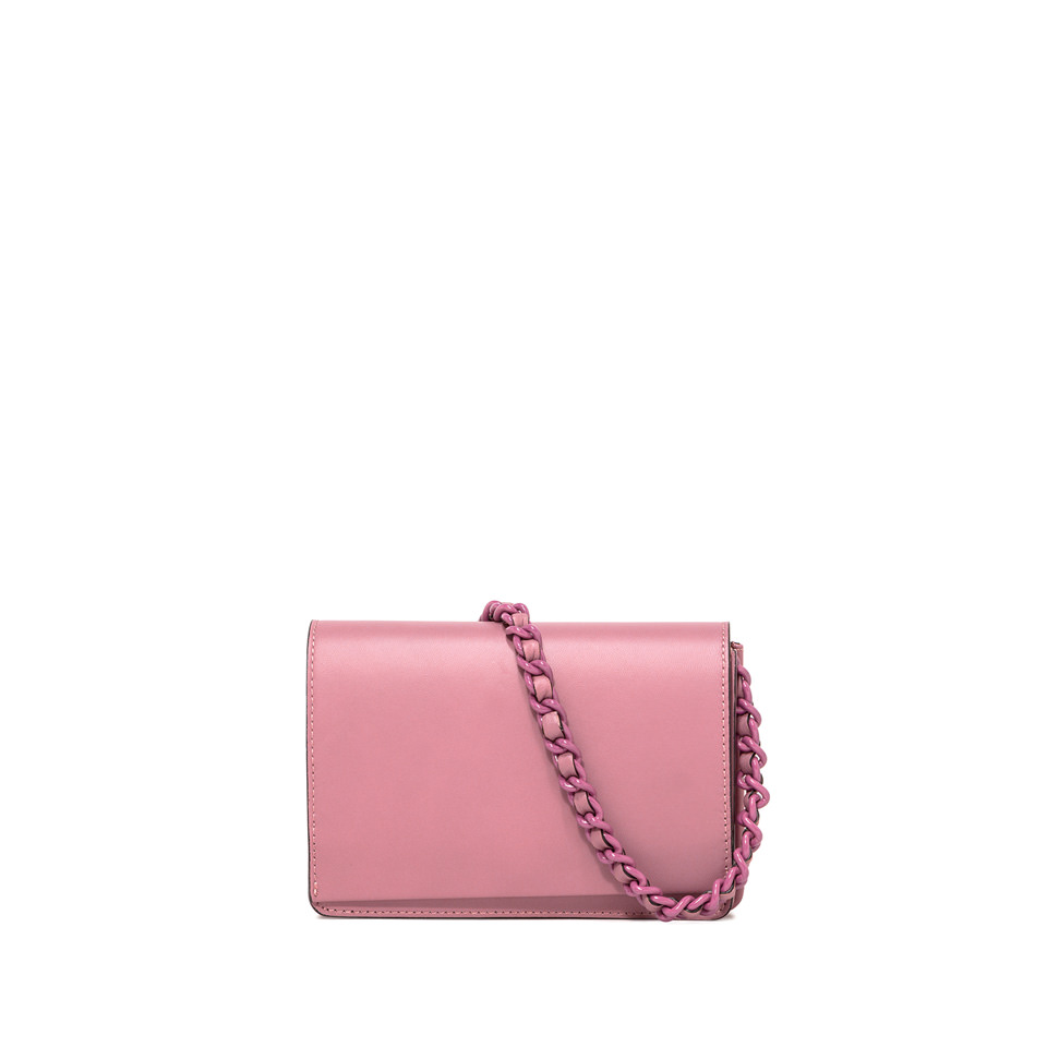 GIANNI CHIARINI: MEDIUM SIZE EMILIA CROSSBODY BAG COLOR PINK