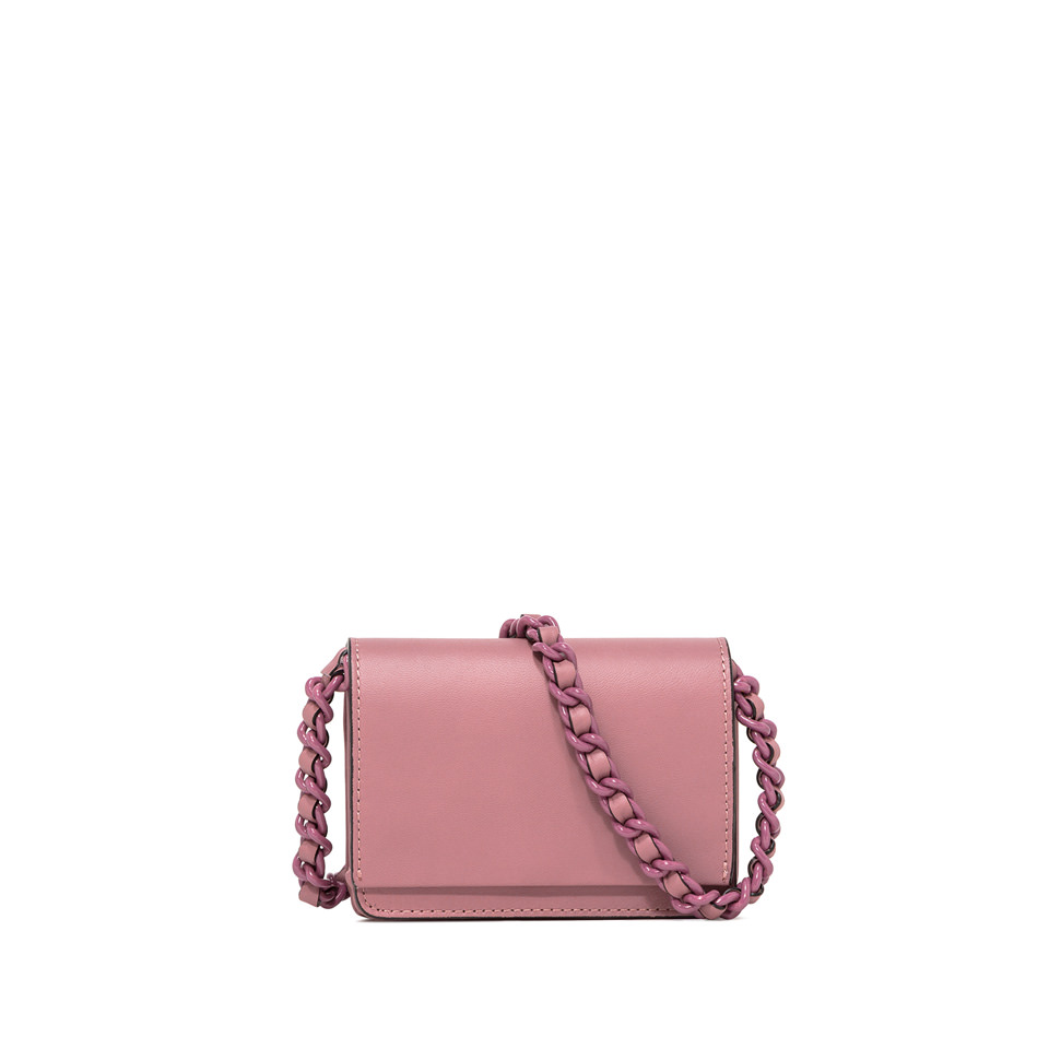 GIANNI CHIARINI: SMALL SIZE EMILIA CROSSBODY BAG COLOR PINK