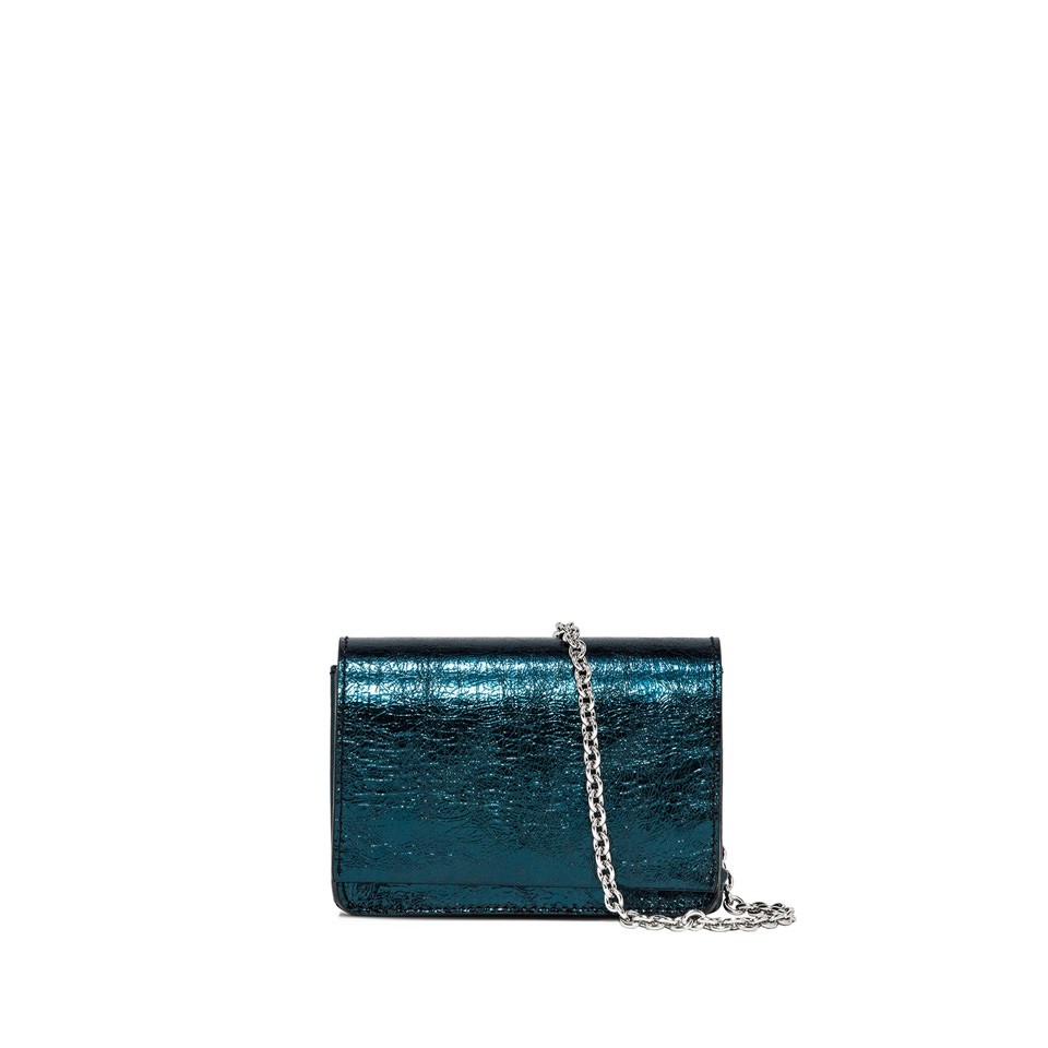GIANNI CHIARINI: SMALL SIZE EMILIA CROSSBODY BAG COLOR GREEN