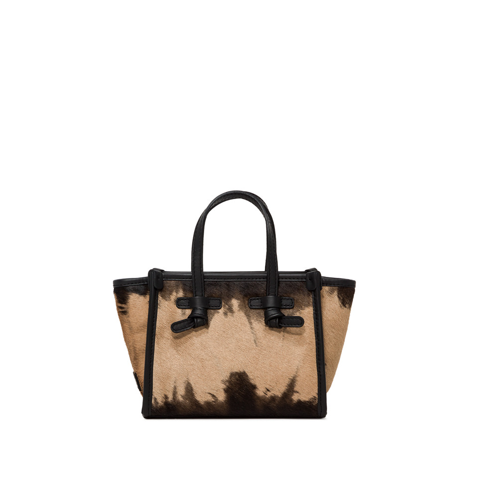 GIANNI CHIARINI: BORSA MINI MISS MARCELLA SMALL BEIGE