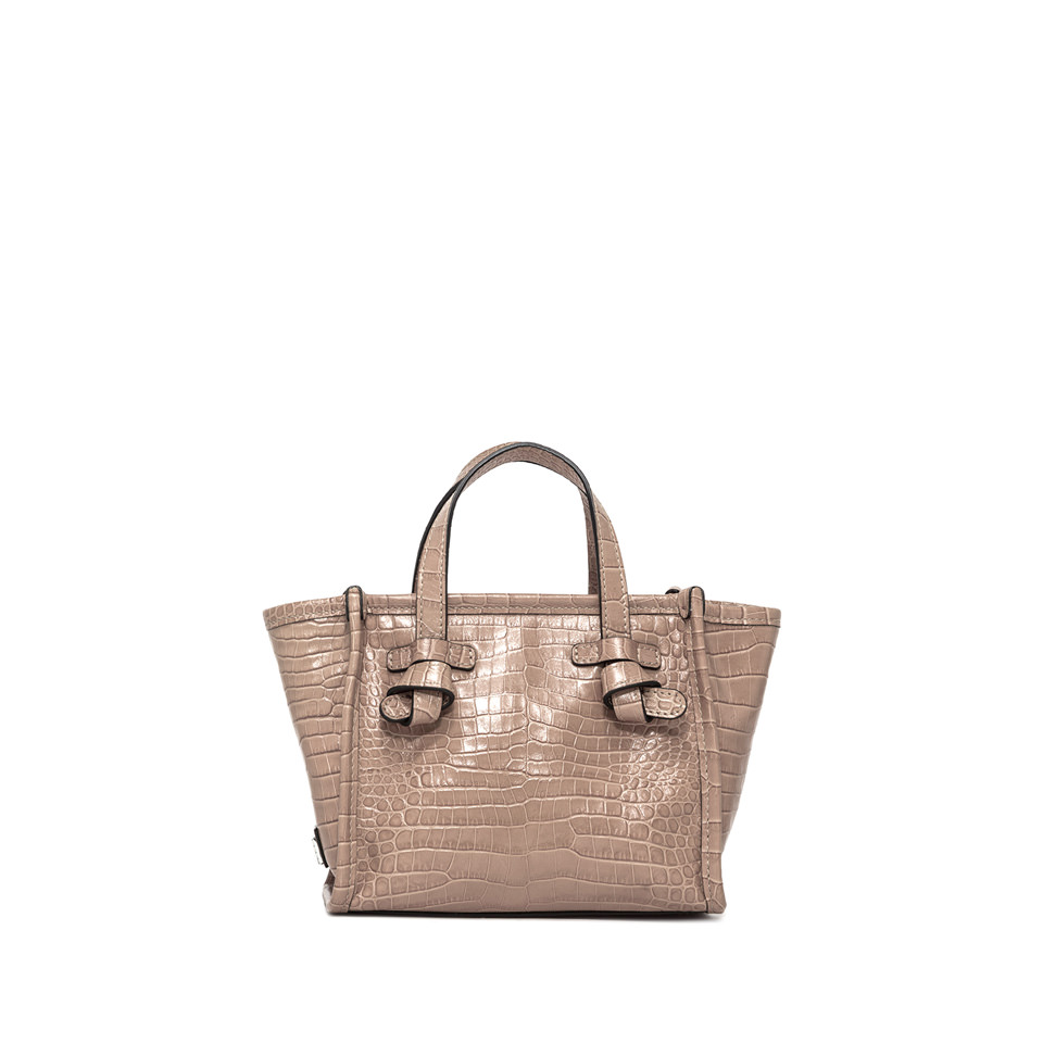 GIANNI CHIARINI: MINI BAG SMALL SIZE MISS MARCELLA COLOR BEIGE