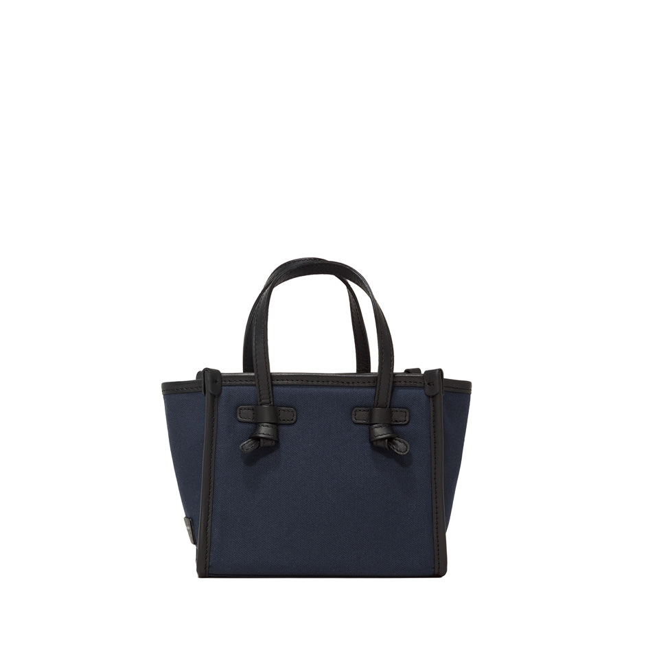 GIANNI CHIARINI: SMALL SIZE MARCELLA CROSSBODY BAG COLOR BLUE