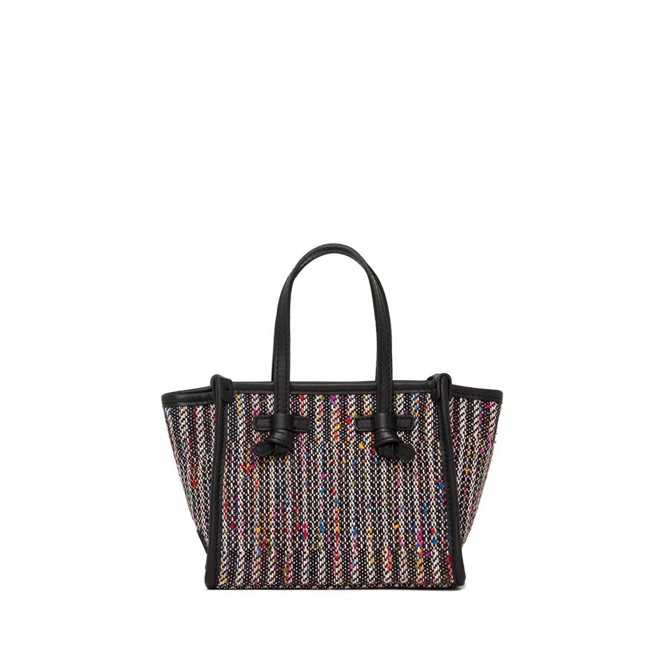 GIANNI CHIARINI: MINI BAG SMALL SIZE MISS MARCELLA COLOR BLACK