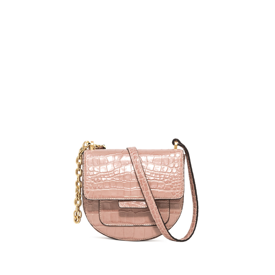 GIANNI CHIARINI: MEDIUM SIZE TERESA CROSSBODY BAG COLOR PINK