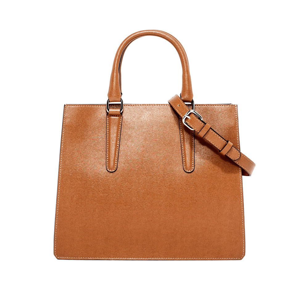 GIANNI CHIARINI: PRINCESS LARGE BROWN HANDBAG