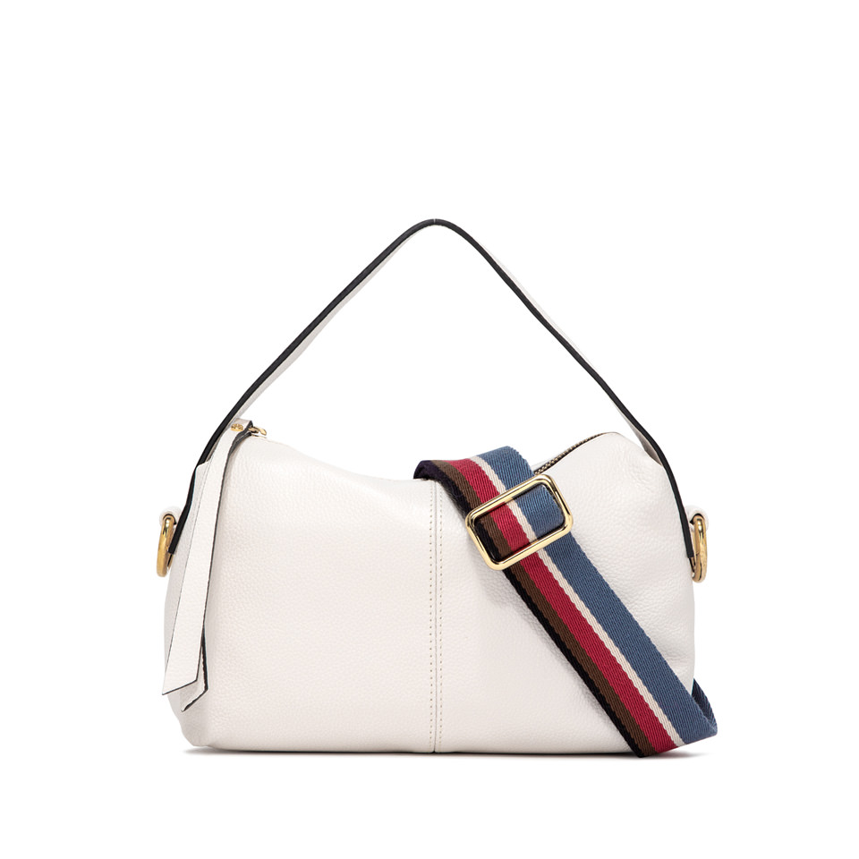 GIANNI CHIARINI: SMALL SIZE MINI GIORGIA BAG COLOR WHITE