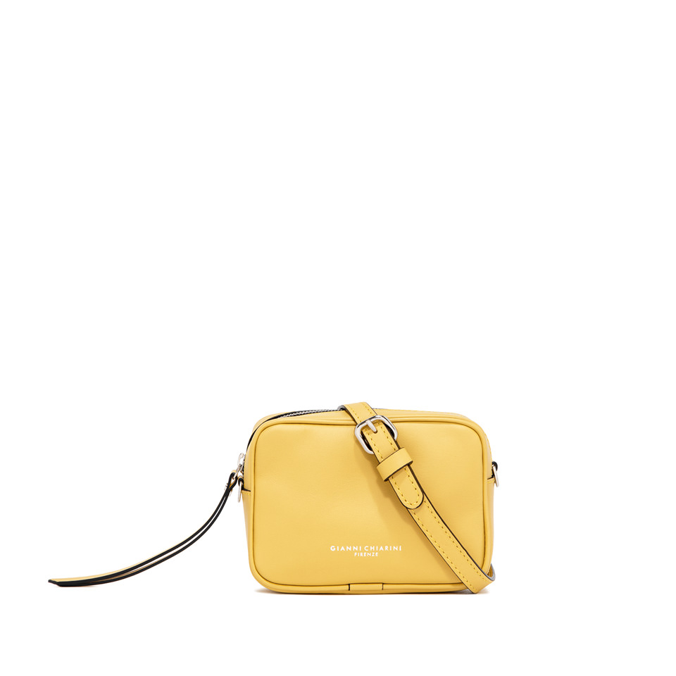 GIANNI CHIARINI: SMALL SIZE MINI HOLLY BAG COLOR YELLOW