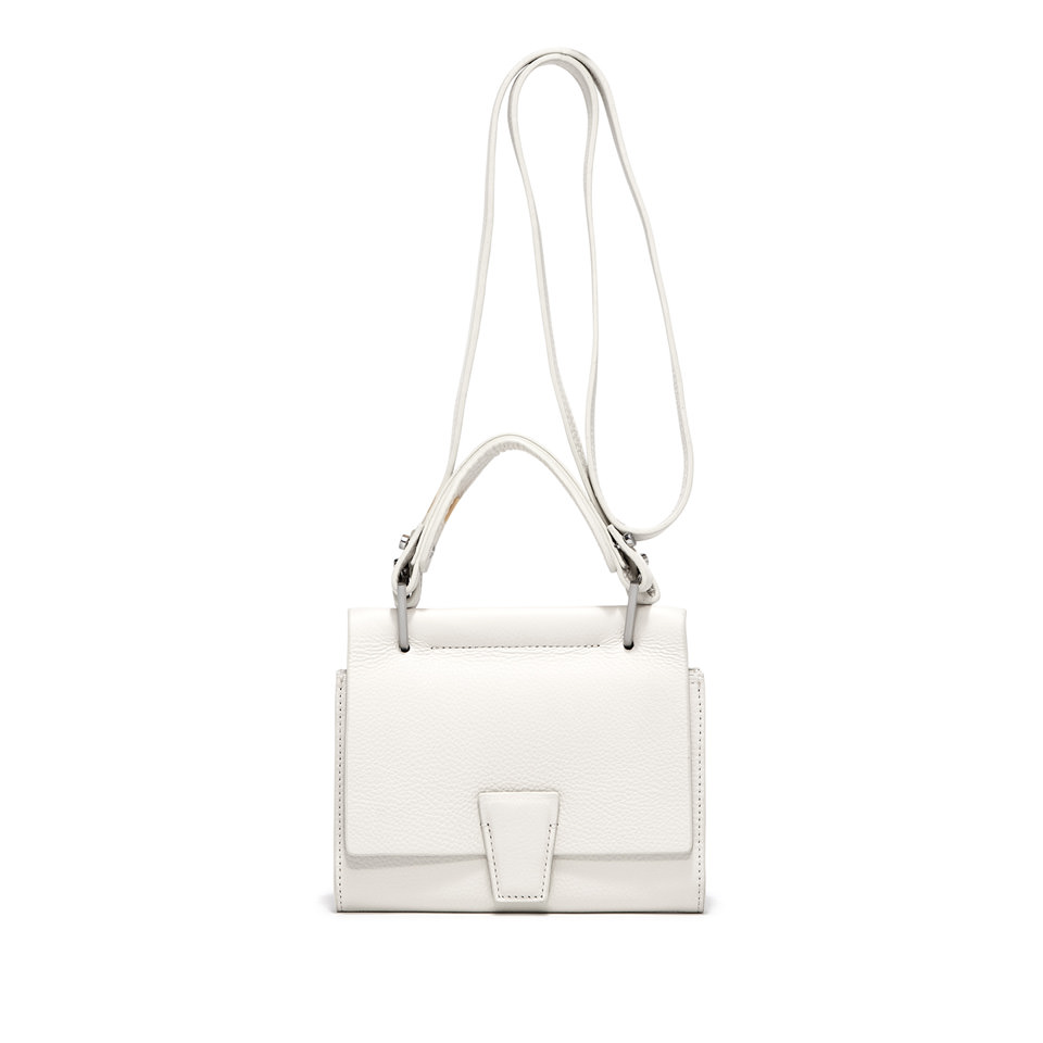 GIANNI CHIARINI: SMALL SIZE MINI WALLETS ELETTRA BAG COLOR WHITE