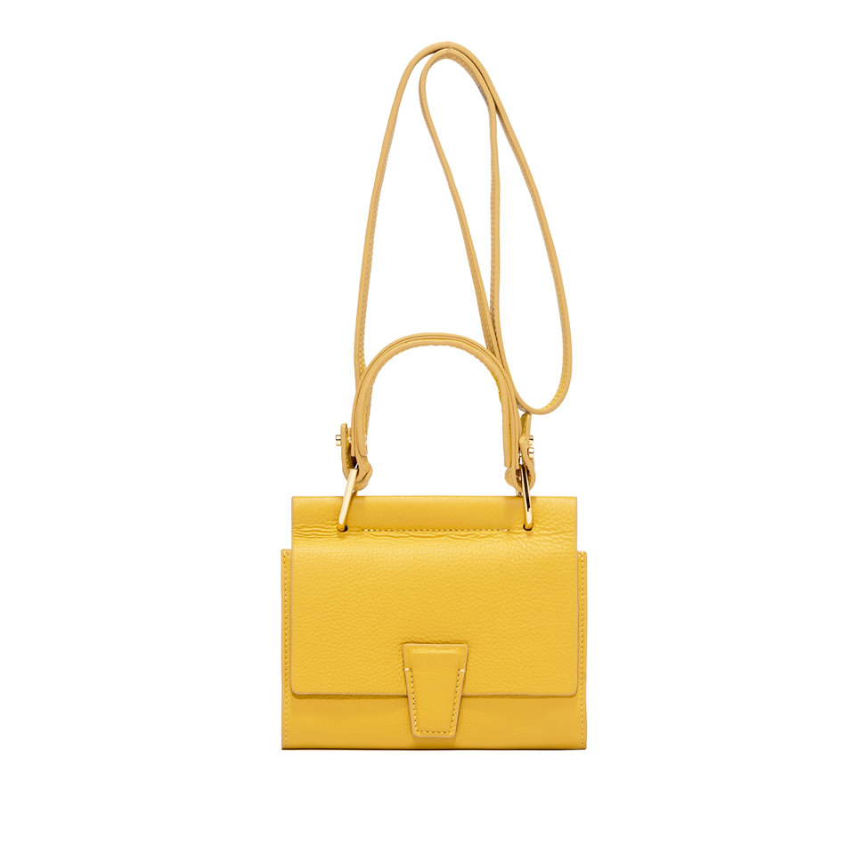 GIANNI CHIARINI: SMALL SIZE MINI WALLETS ELETTRA BAG COLOR YELLOW