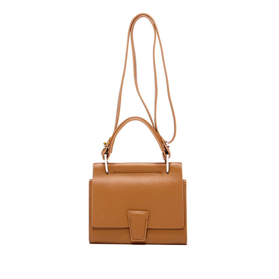 GIANNI CHIARINI: SMALL SIZE MINI WALLETS ELETTRA BAG COLOR BROWN