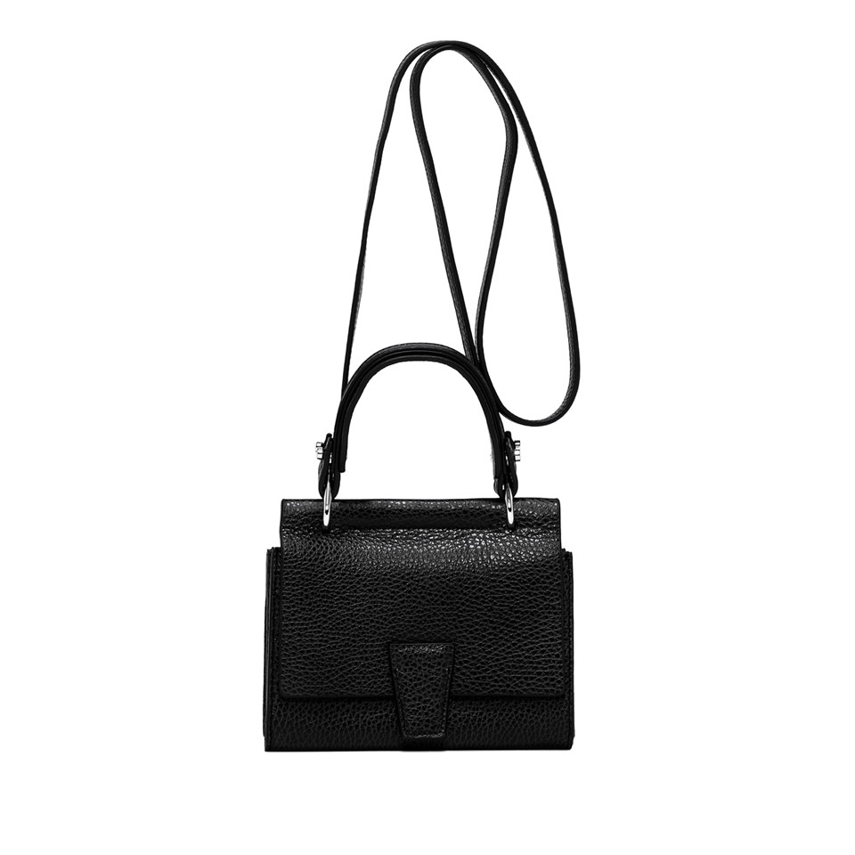GIANNI CHIARINI: SMALL SIZE MINI WALLETS ELETTRA BAG COLOR BLACK