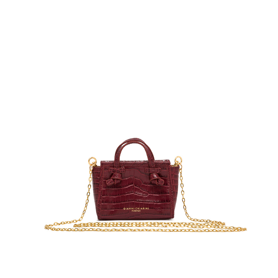 GIANNI CHIARINI: MICRO MARCELLA COLOR BORDEAUX