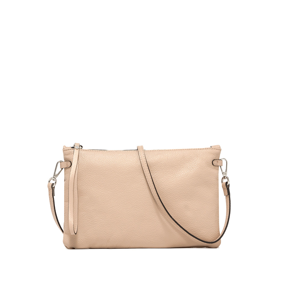 GIANNI CHIARINI: HERMY  LARGE BEIGE CLUTCH BAG
