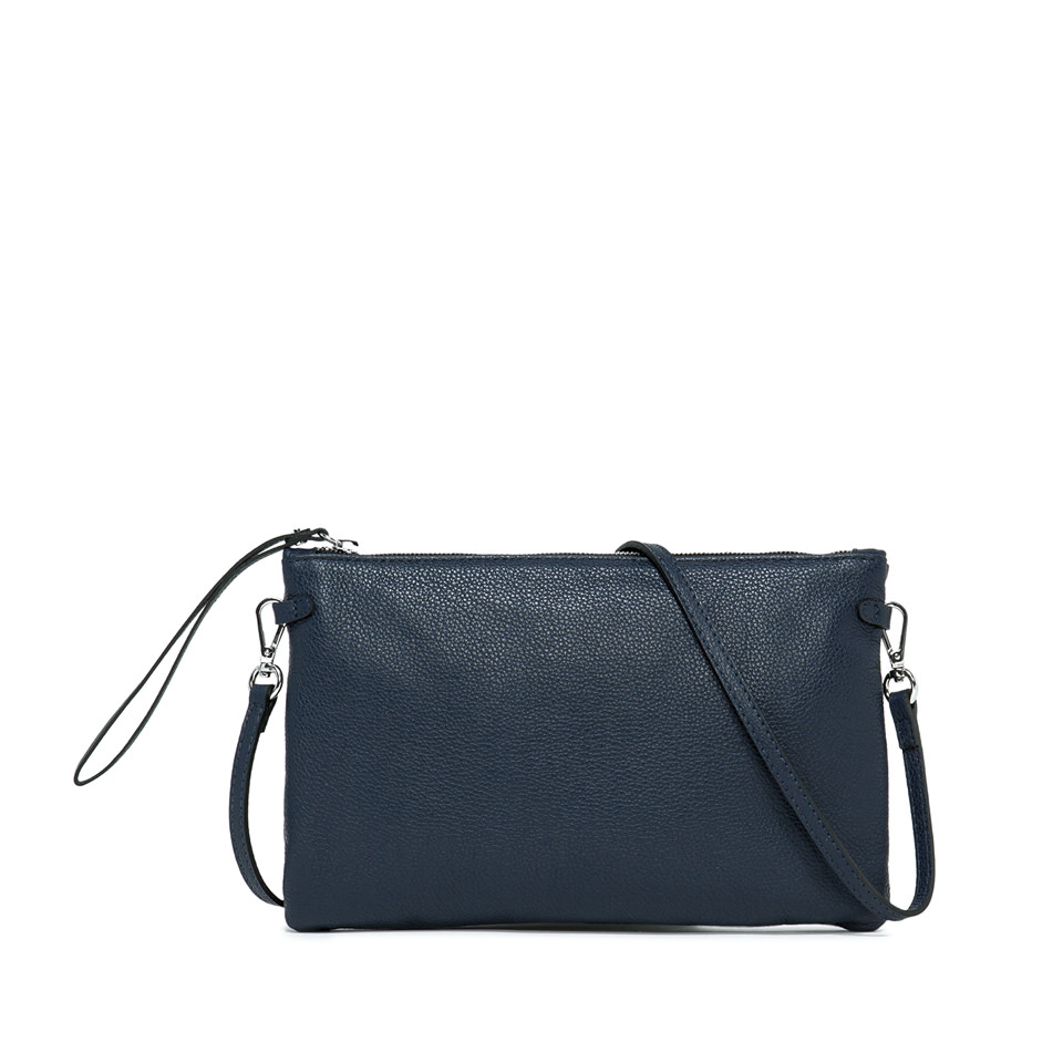 GIANNI CHIARINI: CLUTCH HERMY LARGE BLUE