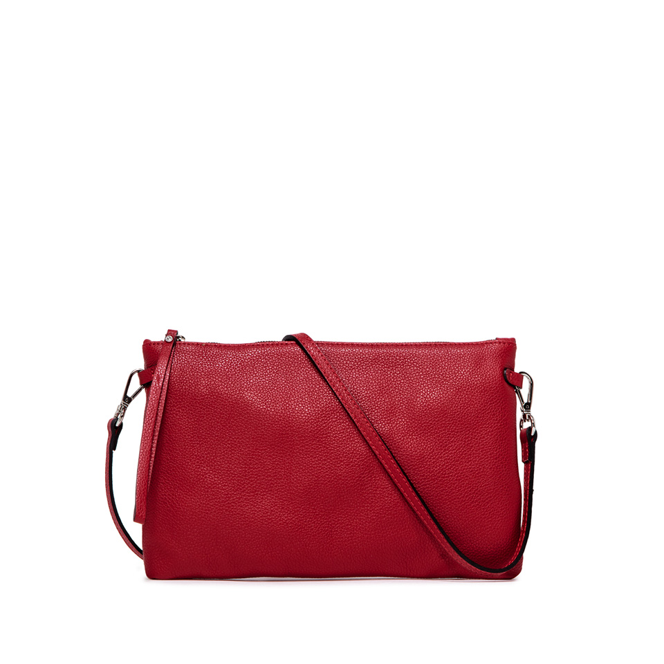 GIANNI CHIARINI: HERMY  LARGE FUXIA CLUTCH BAG