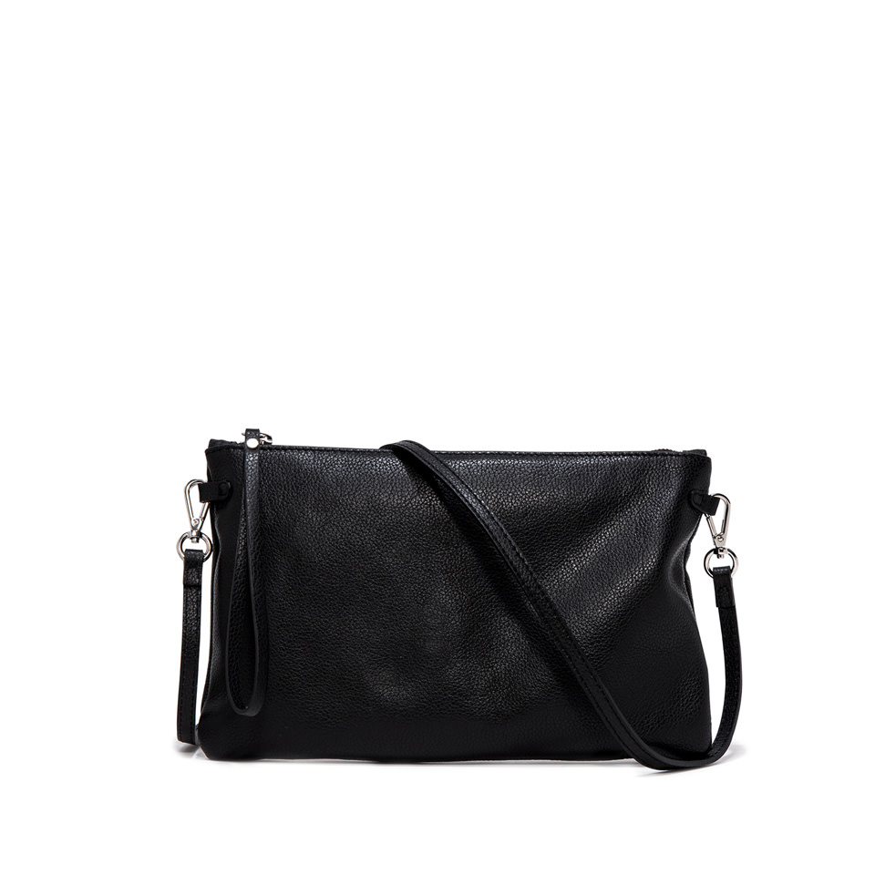 GIANNI CHIARINI: HERMY  LARGE BLACK CLUTCH BAG