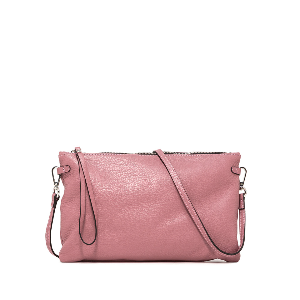 GIANNI CHIARINI: LARGE SIZE HERMY CLUTCH COLOR PINK