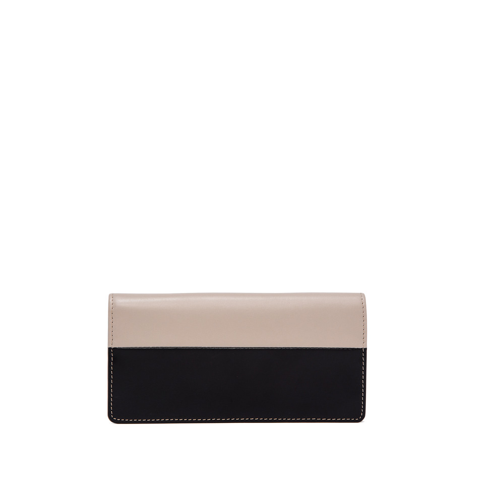 GIANNI CHIARINI: WALLETS  ROSETTA  LARGE  BLACK  WALLET