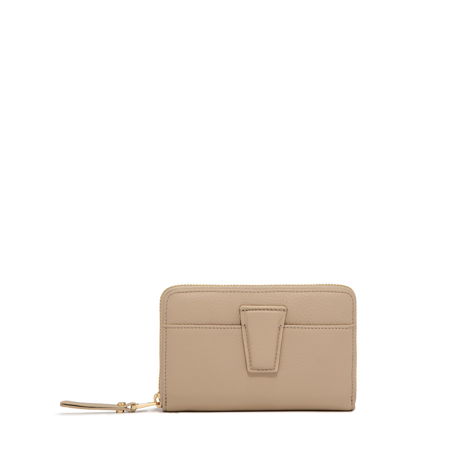 GIANNI CHIARINI: MEDIUM SIZE ELETTRA WALLET COLOR BEIGE