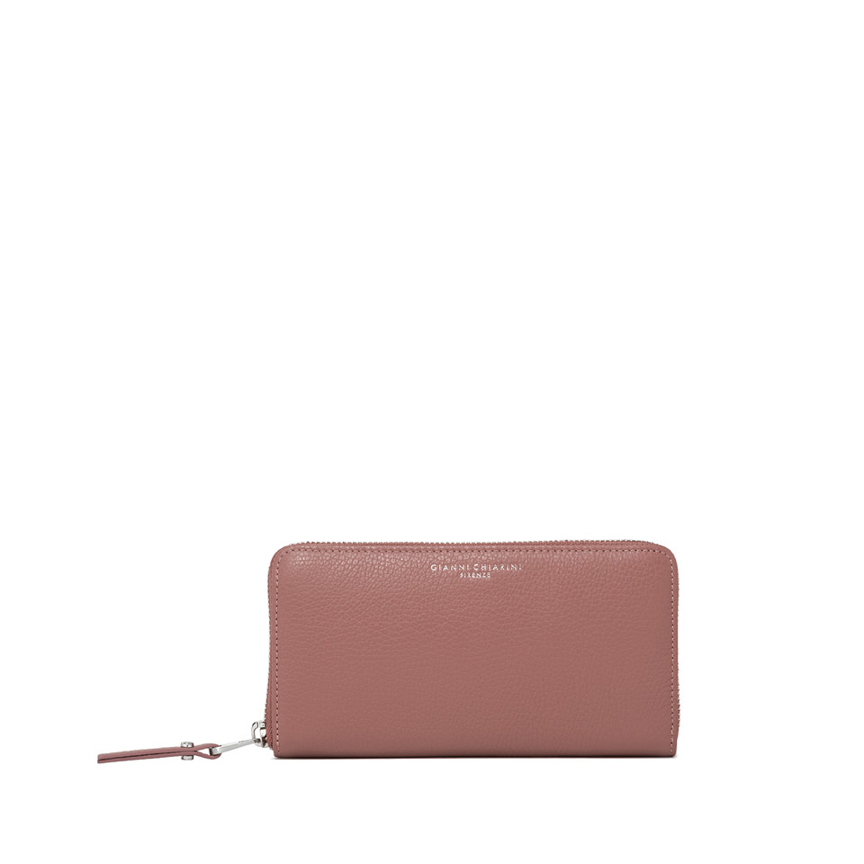 GIANNI CHIARINI: LARGE SIZE ESSENTIAL WALLET COLOR PINK