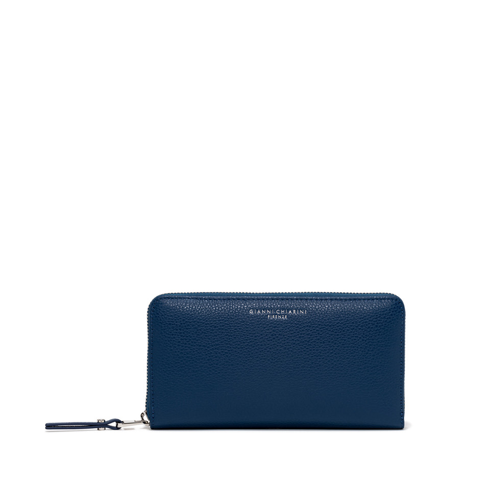 GIANNI CHIARINI: WALLET ESSENTIAL OASI LARGE COLOR BLUE