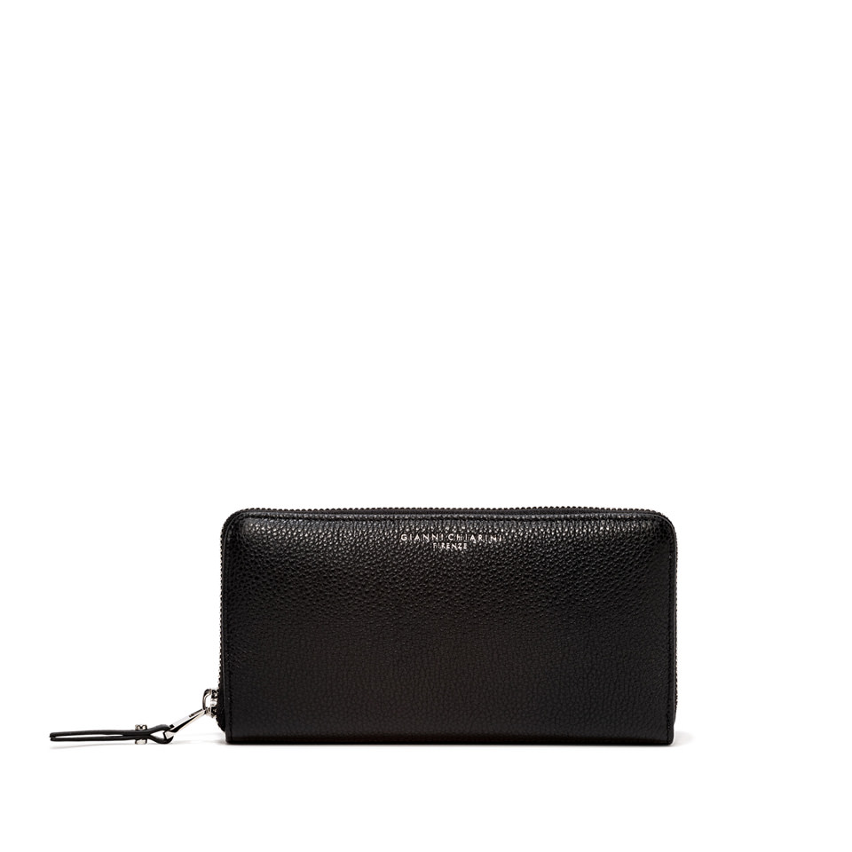 GIANNI CHIARINI: WALLET ESSENTIAL OASI LARGE COLOR BLACK