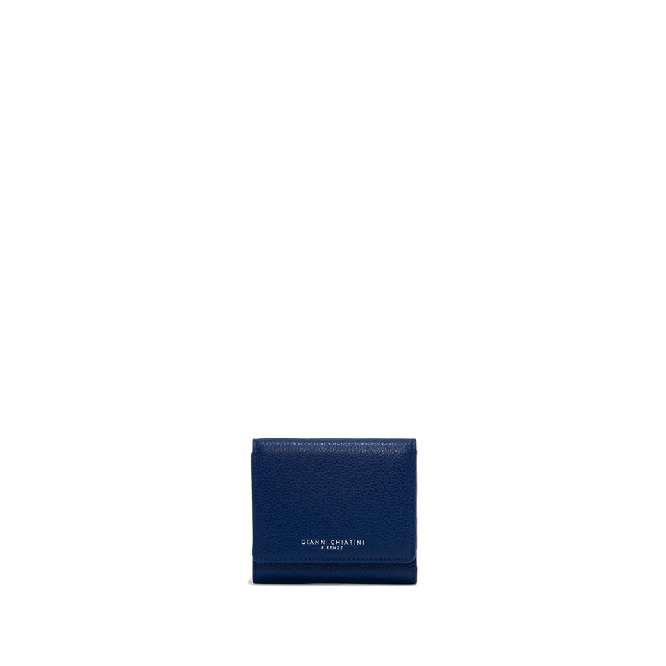 GIANNI CHIARINI: WALLETS ESSENTIAL OASI SMALL BLUE