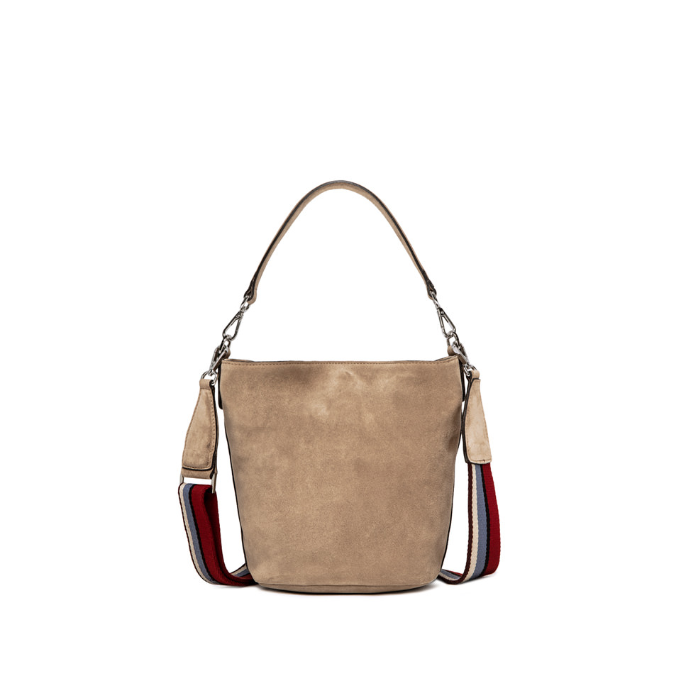 GIANNI CHIARINI: SECCHIELLO JACKY BUCKET NEW MEDIUM BEIGE