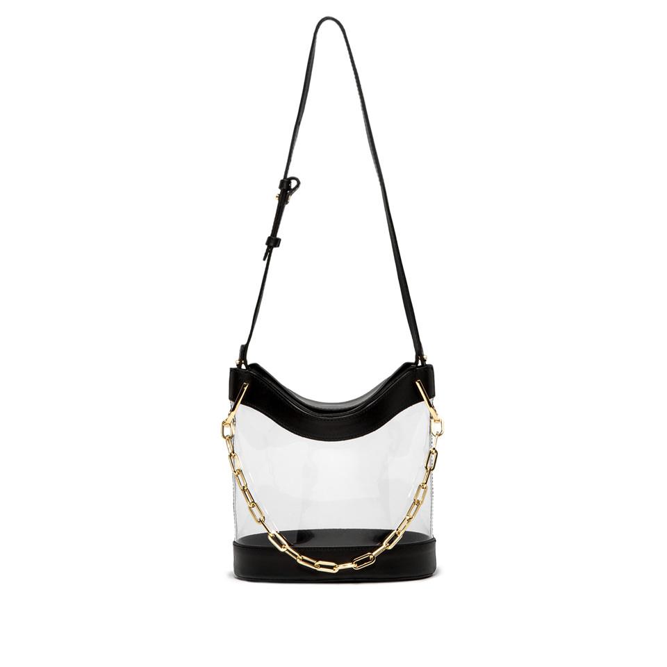 GIANNI CHIARINI: SOPHIA LARGE BLACK BUCKET BAG