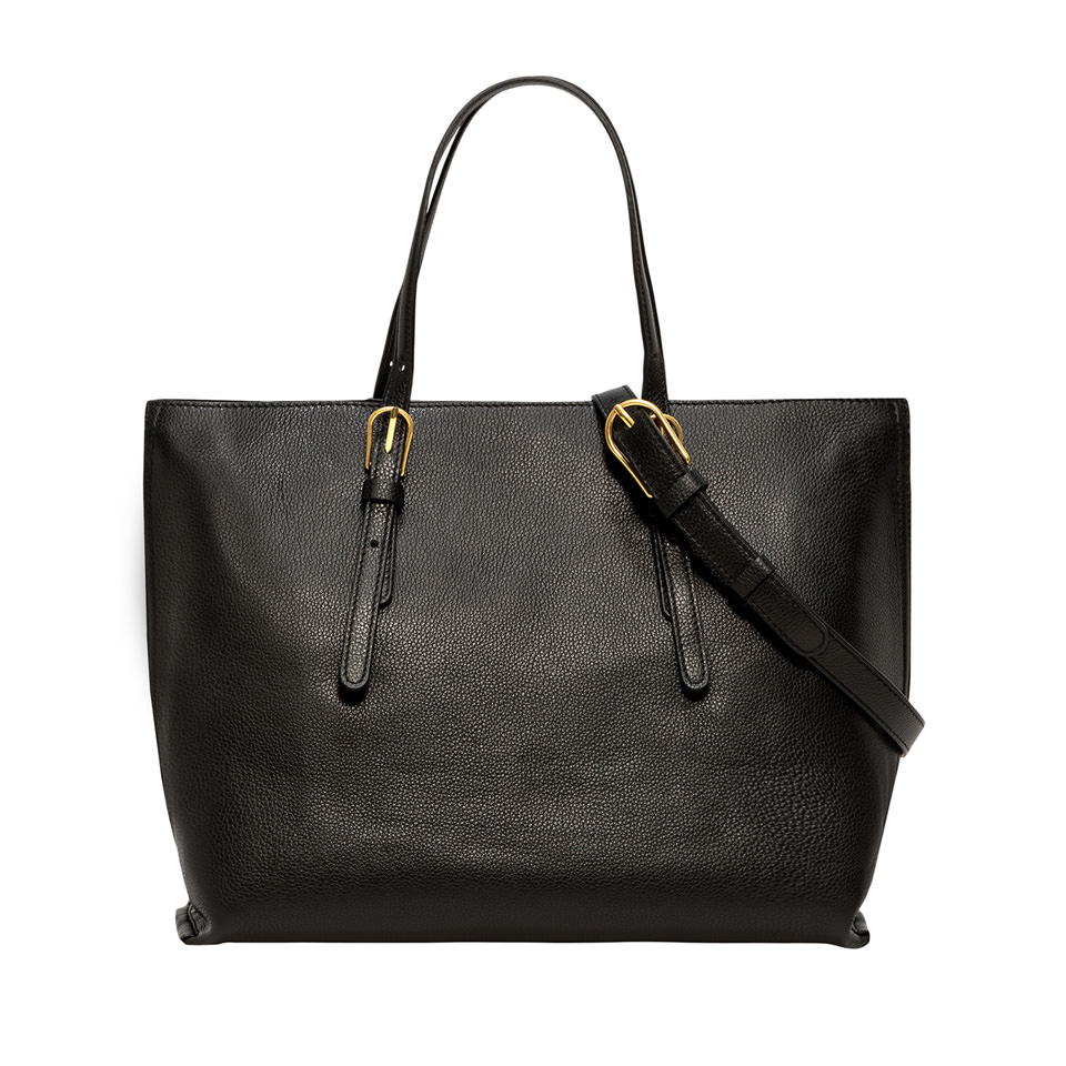 GIANNI CHIARINI: LARGE SIZE PATRICIA SHOPPING BAG COLOR BLACK